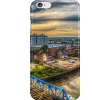 Hull rooftops iPhone Case/Skin