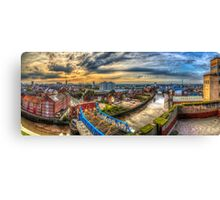 Hull rooftops Canvas Print