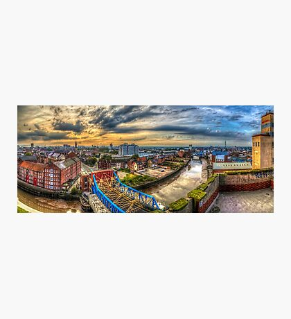Hull rooftops Photographic Print