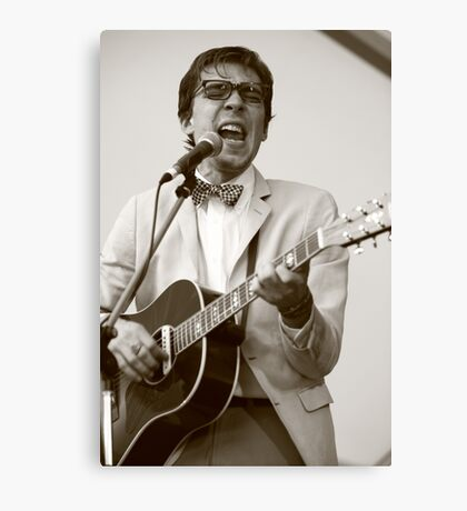 Justin Townes Earle Canvas Print