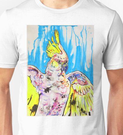 Bold Cockatoo Unisex T-Shirt