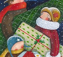 Christmas Rush by Susan Mitchell
