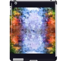 water reflection rain water puddle abstract, iPad Case/Skin