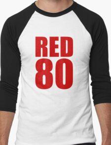 Colin Kaepernick - RED 80 Men's Baseball ¾ T-Shirt