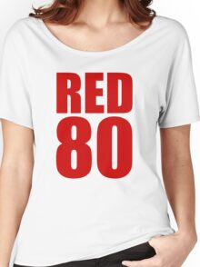 Colin Kaepernick - RED 80 Women's Relaxed Fit T-Shirt