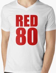 Colin Kaepernick - RED 80 Mens V-Neck T-Shirt