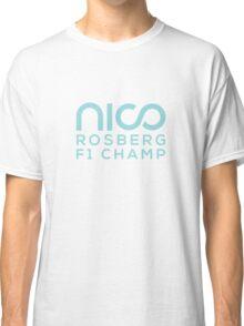 Nico Rosberg 2016 world champion f1 Classic T-Shirt