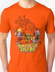 Bucky O'Hare - Logo - Group with Ship - Color T-Shirt