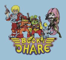 Bucky O'Hare - Group Logo - Color Baby Tee