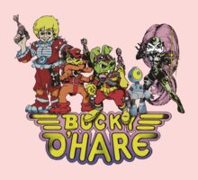 Bucky O'Hare - Group Logo - Color Kids Clothes