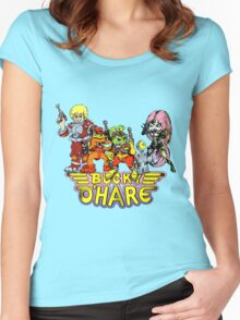 Bucky O'Hare - Group Logo - Color Women's Fitted Scoop T-Shirt