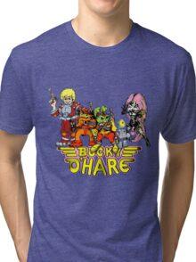 Bucky O'Hare - Group Logo - Color Tri-blend T-Shirt