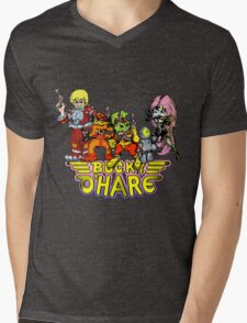 Bucky O'Hare - Group Logo - Color Mens V-Neck T-Shirt