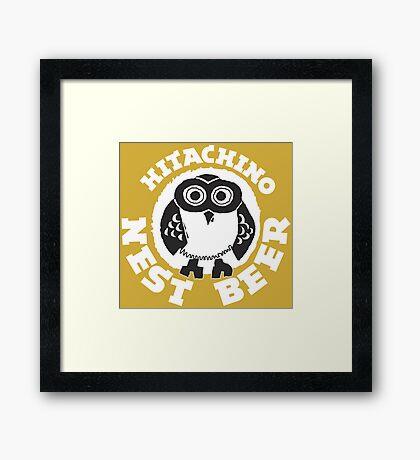 Hitachino Nest Beer Japanese Framed Print