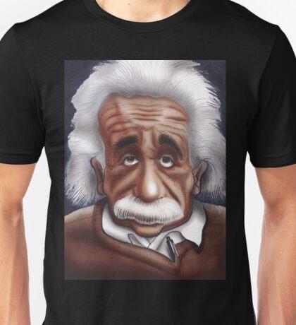 Albert Einstein Caricature Unisex T-Shirt