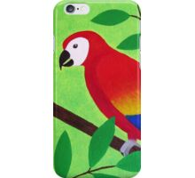 Colorful Parrot  iPhone Case/Skin