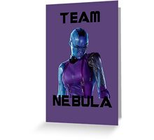 Team Nebula (Black) Greeting Card