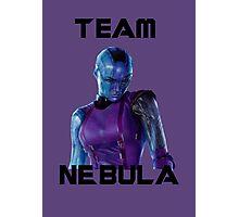 Team Nebula (Black) Photographic Print