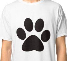 dog paw print Classic T-Shirt