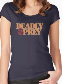 Deadly Prey Women's Fitted Scoop T-Shirt