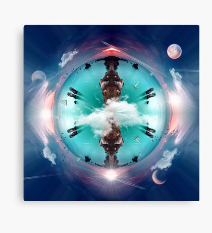 It's a small world Canvas Print