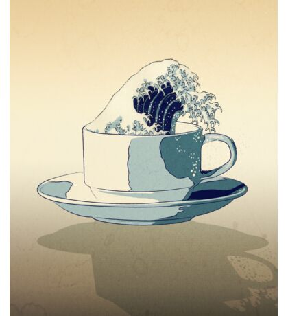 Storm in a Teacup - Tsea-nami! Sticker