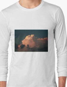 Cotton Candy Clouds Long Sleeve T-Shirt