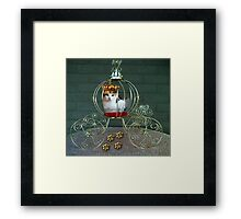 I CAN BE THE PURRFECT QUEEN OR THE QUEEN OF DENIAL>FELINE>CAT PICTURE Framed Print