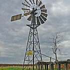 Old Windmill by Graeme  Hyde