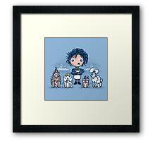 Edward's Pet Shop Framed Print