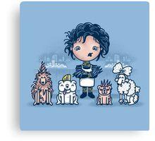 Edward's Pet Shop Canvas Print