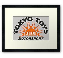 Tokyo Toys JDM Motorsport Framed Print