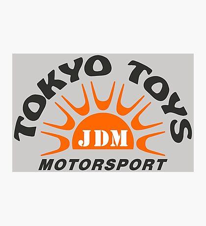 Tokyo Toys JDM Motorsport Photographic Print