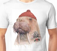 Tattooed Walrus Unisex T-Shirt