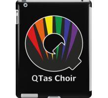 QTas Choir Logo (official choir performance shirt)  iPad Case/Skin