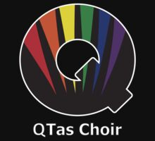 QTas Choir Logo (official choir performance shirt)  by QTas