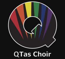 QTas Choir Logo (official choir performance shirt)  T-Shirt