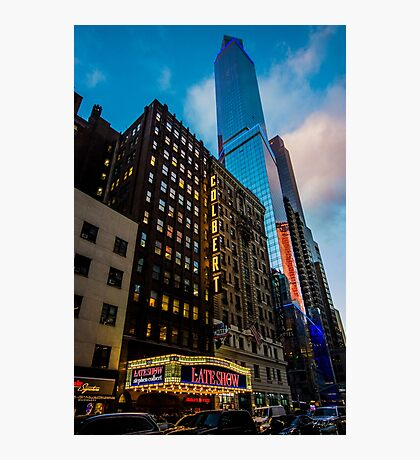 Broadway, New York City, USA. Photographic Print
