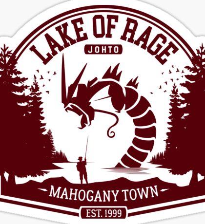Pokemon - The Lake of Rage - Red Gyarados Sticker