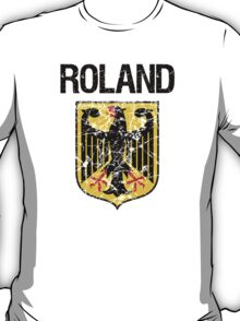 Roland Surname German T-Shirt