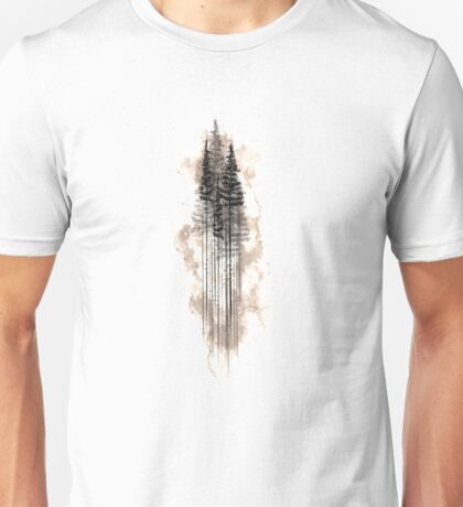 Watercolour PineTree Forest Unisex T-Shirt