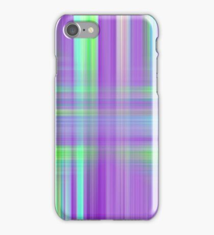Purple Blue Green Abstract Texture iPhone Case/Skin