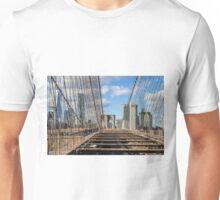 Brooklyn Bridge, New York, USA. Unisex T-Shirt