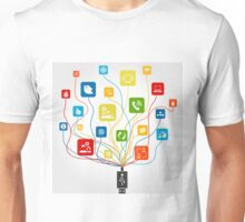 Connection the computer2 Unisex T-Shirt