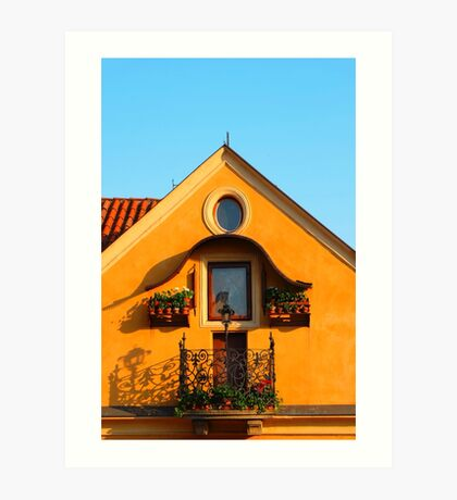 Czech House Art Print