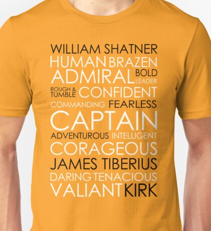 Star Trek - Kirk Text Unisex T-Shirt