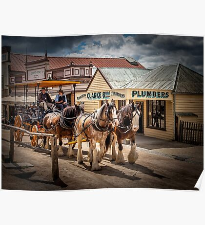 Sovereign Hill 1850 Poster