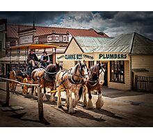 Sovereign Hill 1850 Photographic Print