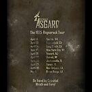 Old Gods of Asgard: Ragnarock Tour Poster by Alexander Bricoli