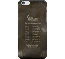Old Gods of Asgard: Ragnarock Tour Poster iPhone Case/Skin